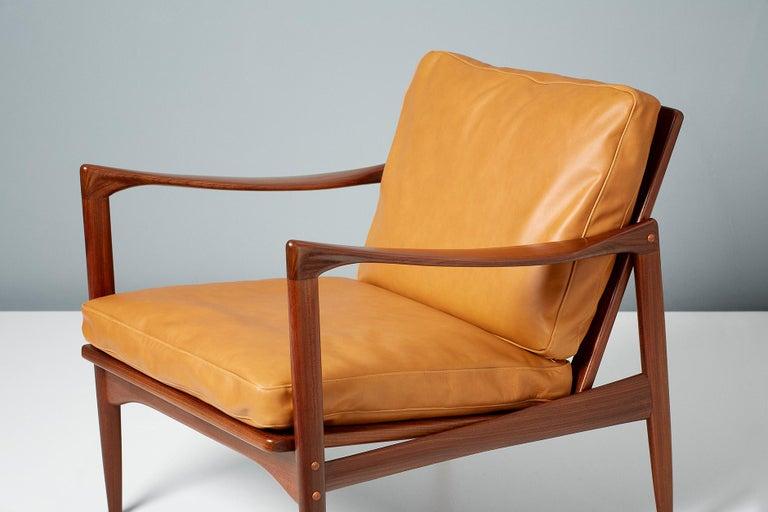 Ib Kofod-Larsen Afromosia Teak Candidate Lounge Chairs, circa 1960 For Sale 5