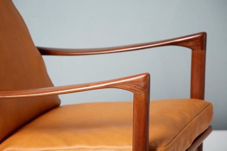 Ib Kofod-Larsen Afromosia Teak Candidate Lounge Chairs, circa 1960 For Sale 1