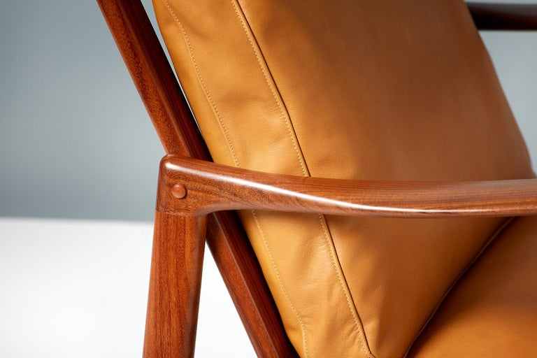 Ib Kofod-Larsen Afromosia Teak Candidate Lounge Chairs, circa 1960 For Sale 3