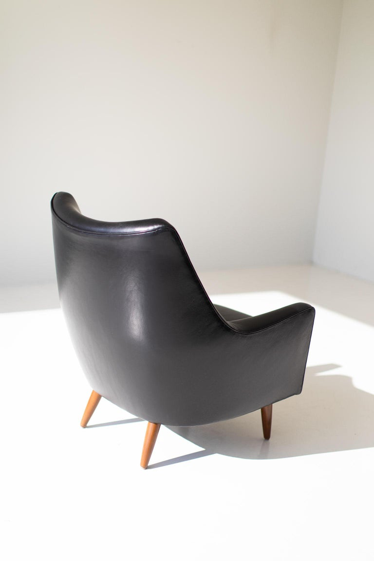 Mid-Century Modern Hans Olsen Lounge Chair for Chr. Sorensen & Co. For Sale