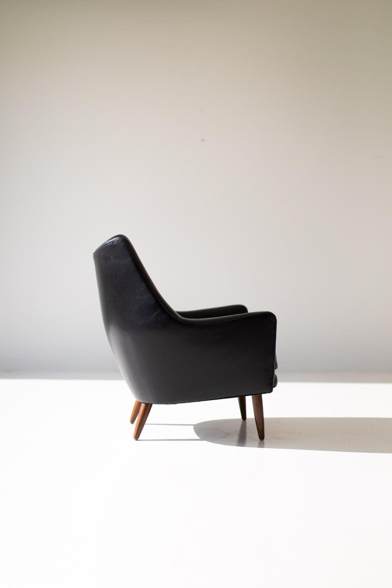 Hans Olsen Lounge Chair for Chr. Sorensen & Co. In Excellent Condition For Sale In Oak Harbor, OH