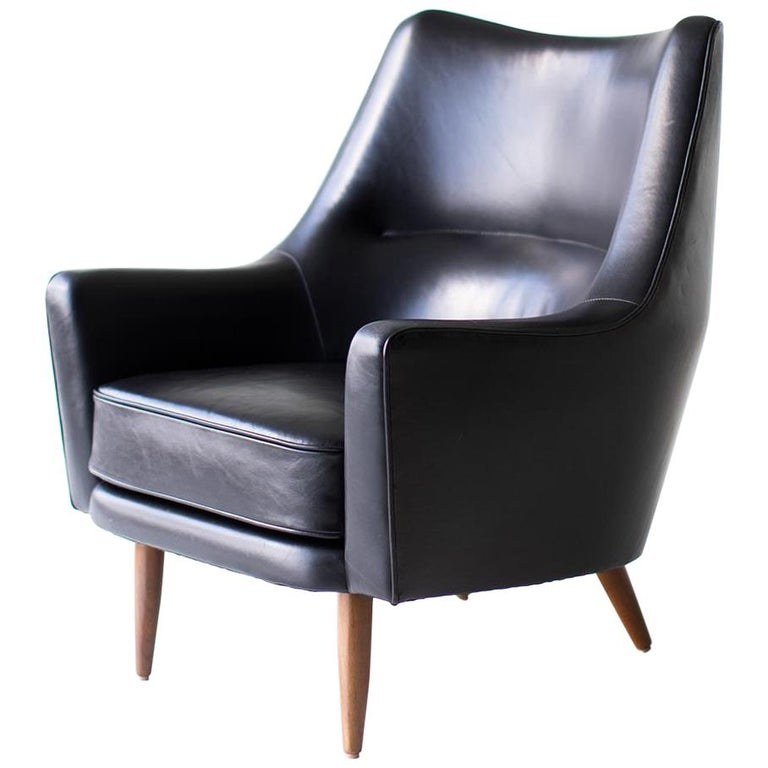 Hans Olsen Lounge Chair for Chr. Sorensen & Co. For Sale