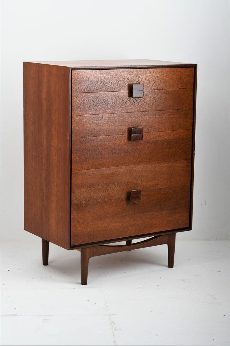G Plan Ib Kofod Larsen designed Teak Danish Range Vanity, chest of drawers and matching wardrobe.  In 1962 G Plan went Danish and hired Danish designer Ib Kofod-Larsen, and G Plan Danish was born. Kofod-Larsen was an architect and furniture