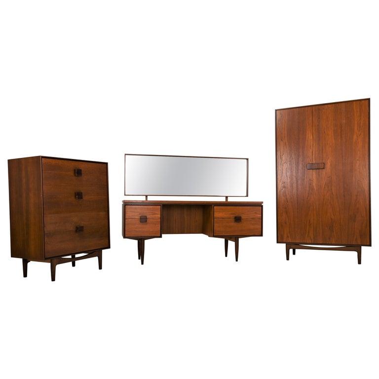 Ib Kofod-Larsen Bedroom Set, 1960s For Sale