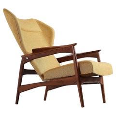 Ib Kofod Larsen Carlo Gahrn Lounge Chair, Denmark, 1954