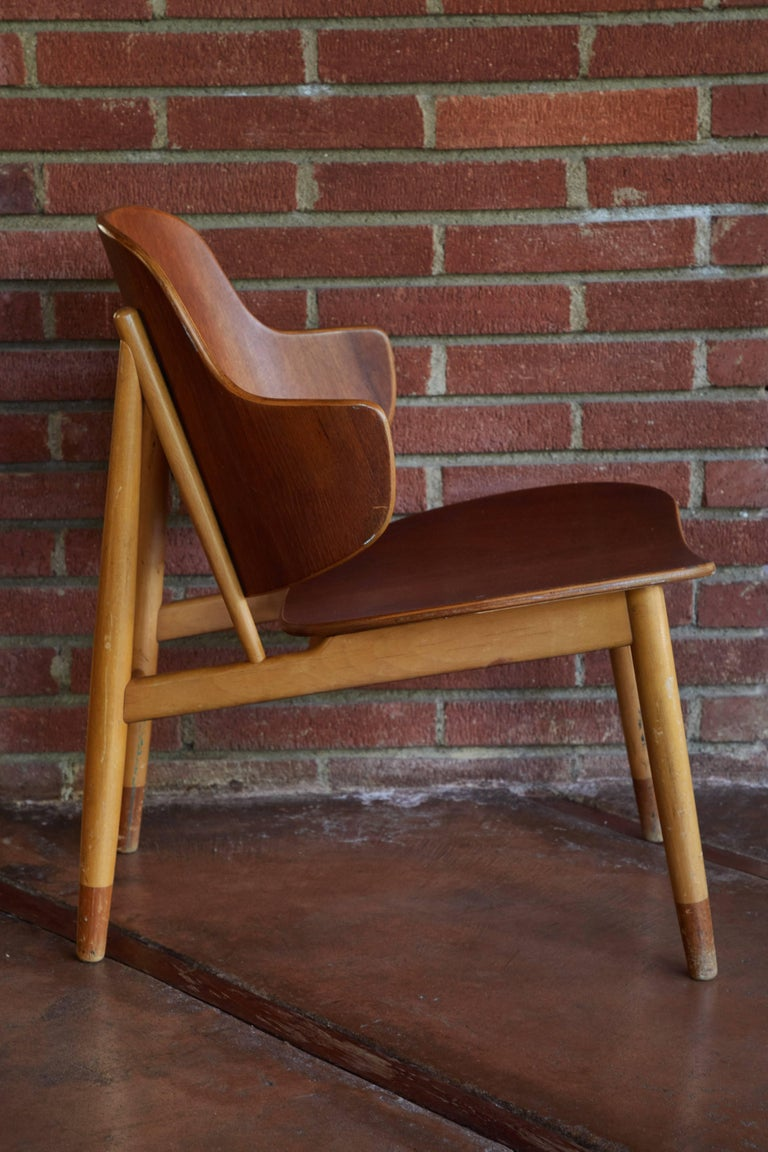 Ib Kofod-Larsen Chairs for Christiansen & Larsen In Good Condition For Sale In Glendale, CA