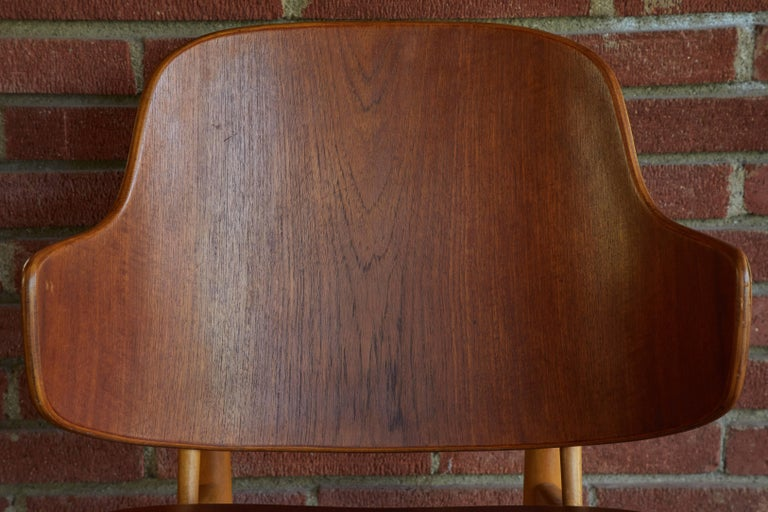 Ib Kofod-Larsen Chairs for Christiansen & Larsen For Sale 1