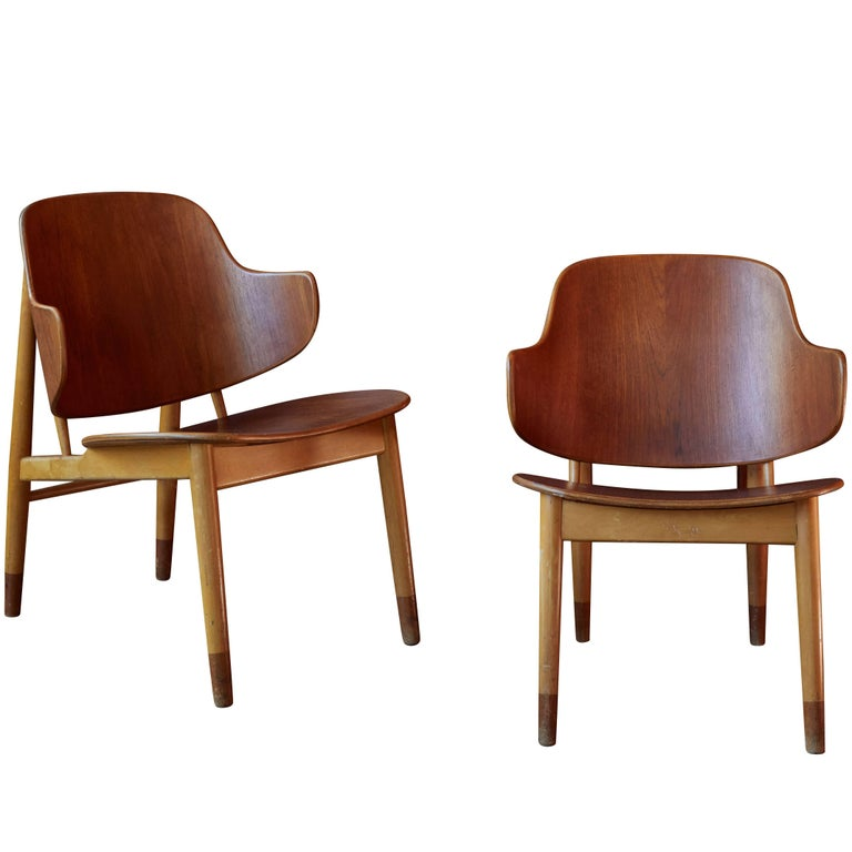 Ib Kofod-Larsen Chairs for Christiansen & Larsen For Sale