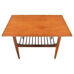 Ib Kofod-Larsen Danish Range Teak Side Table