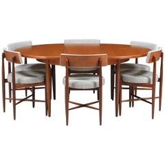 Ib Kofod-Larsen Dining Set with Six Chairs for G-Plan