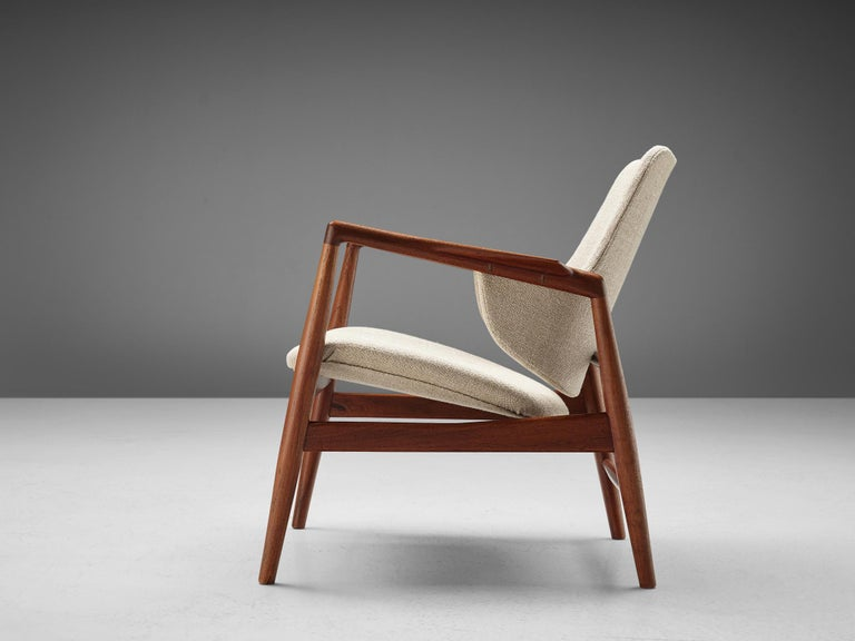 Danish Ib Kofod-Larsen Easy Chair For Sale