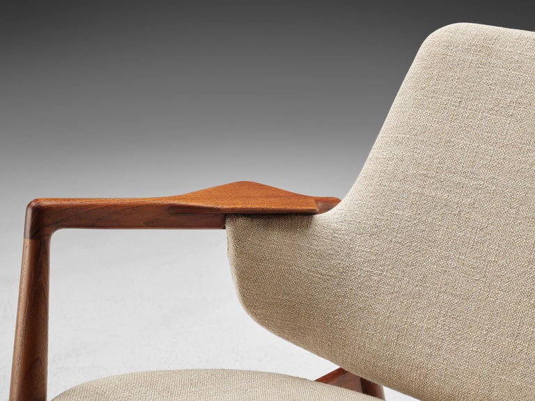 Upholstery Ib Kofod-Larsen Easy Chair For Sale