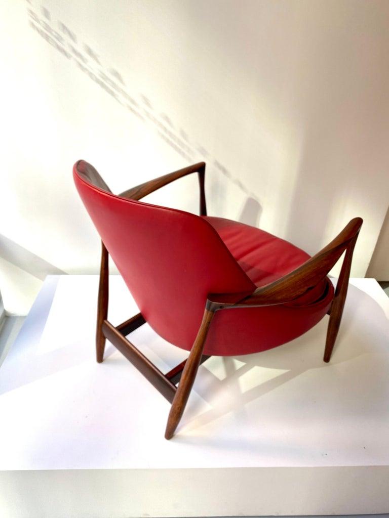 "Scandinavian Modern Ib Kofod - Larsen ""Elizabeth"" Chair in Rosewood, 1956 For Sale"