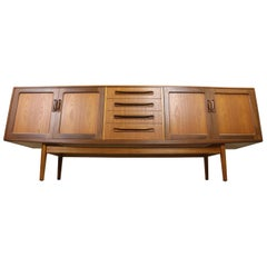 Victor Wilkins for G-Plan Teak Long Credenza Sideboard