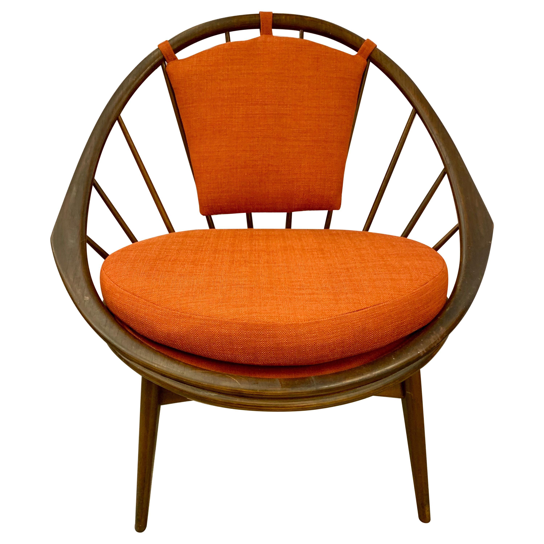 Ib Kofod-Larsen for Selig Hoop Peacock Chair, Denmark