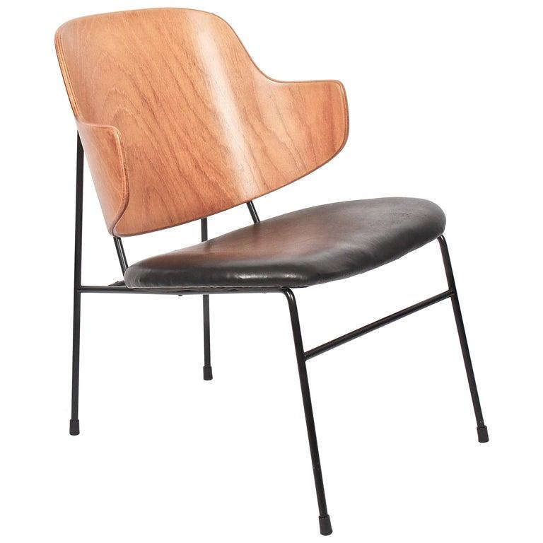 """Ib Kofod-Larsen for Selig """"Penguin"""" Chair, 1960s For Sale"""