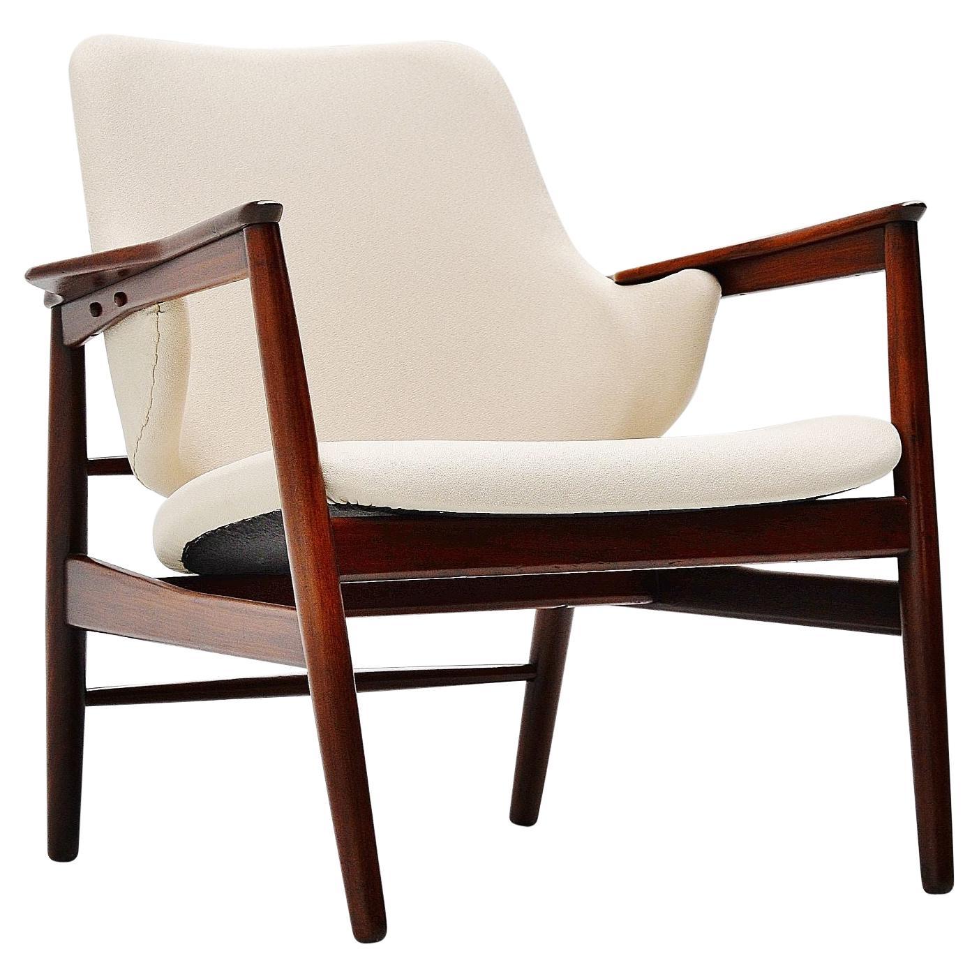Ib Kofod-Larsen Lounge Chair Christensen & Larsen, Denmark, 1953