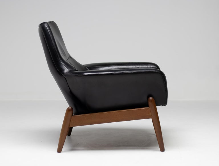 Mid-Century Modern Ib Kofod Larsen Lounge Chair For Sale