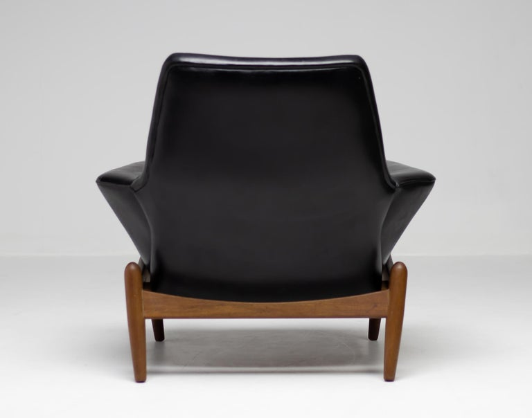 Danish Ib Kofod Larsen Lounge Chair For Sale