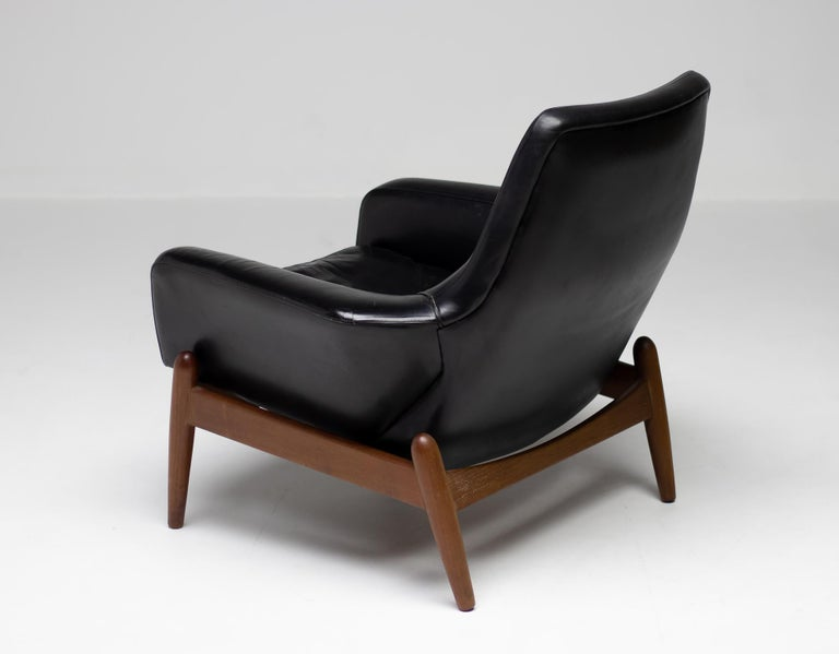 Ib Kofod Larsen Lounge Chair For Sale 2