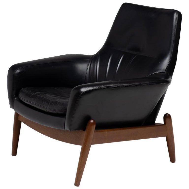 Ib Kofod Larsen Lounge Chair For Sale