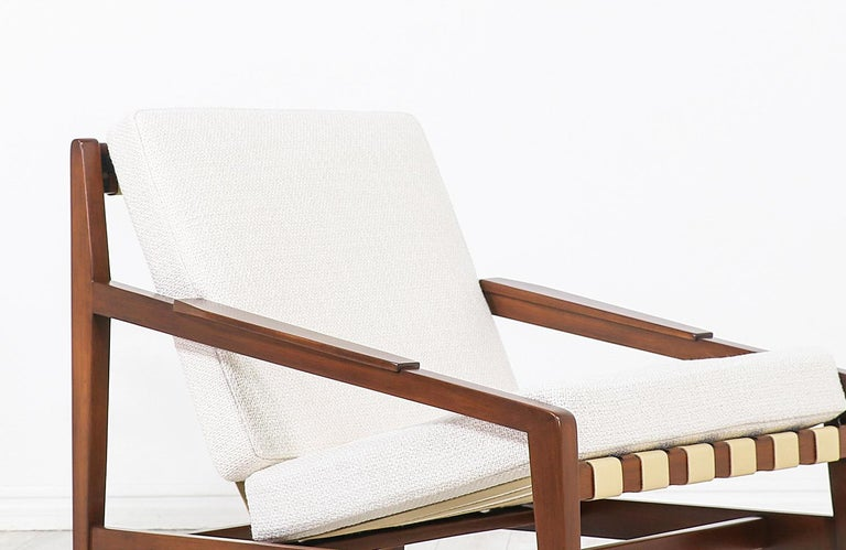 Mid-20th Century Ib Kofod-Larsen Lounge Chair Selig For Sale