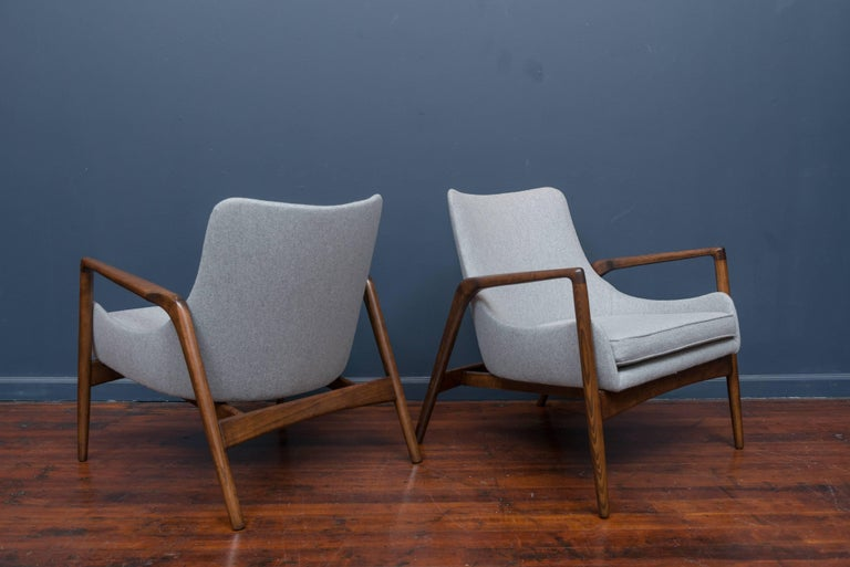 Ib Kofod-Larsen Lounge Chairs In Excellent Condition For Sale In San Francisco, CA