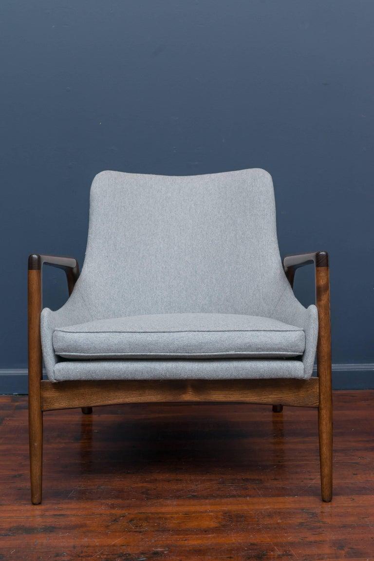 Oak Ib Kofod-Larsen Lounge Chairs For Sale