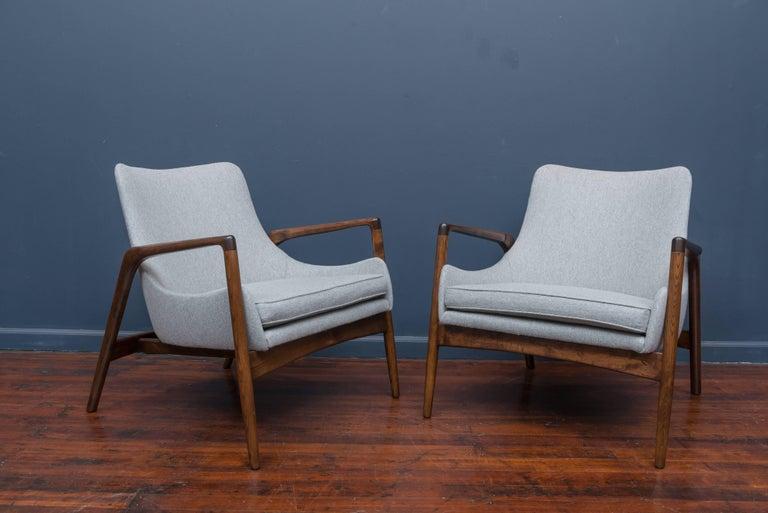 Ib Kofod-Larsen Lounge Chairs For Sale 1