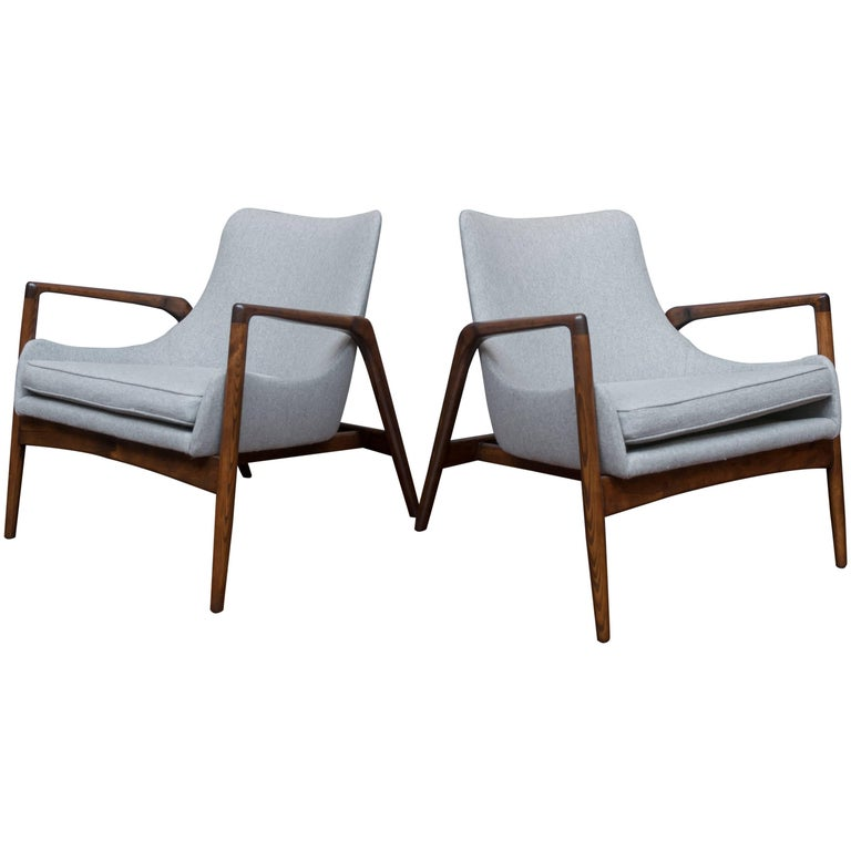 Ib Kofod-Larsen Lounge Chairs For Sale