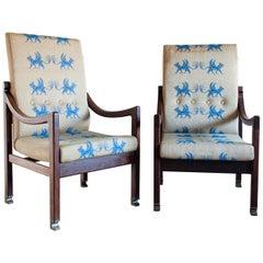 Ib Kofod-Larsen Megiddo Lounge Chair, a Pair