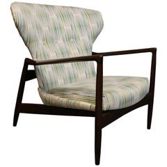 IB Kofod-Larsen Midcentury Danish Wingback Lounge Chair