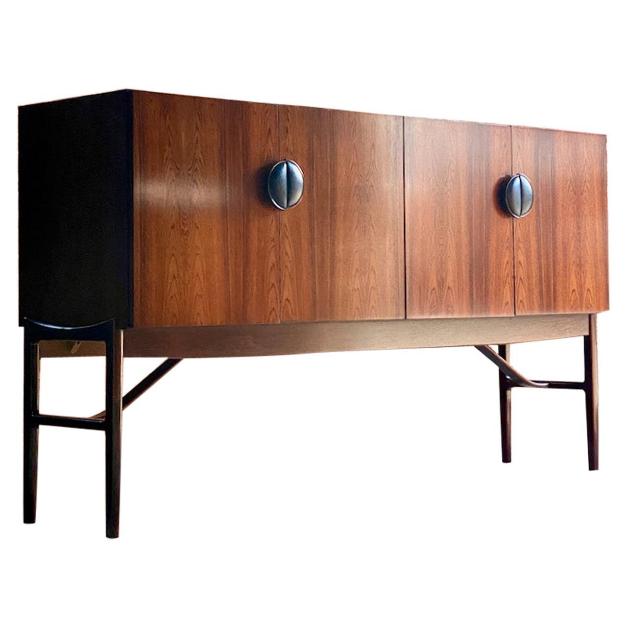 Ib Kofod Larsen Model 4060 Rio Rosewood Sideboard, Circa 1964