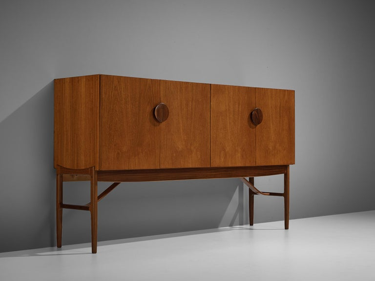 Ib Kofod-Larsen for G-Plan/E. Gomme Ltd., sideboard, model 4060, teak, rosewood, Denmark/United Kingdom, 1960s
