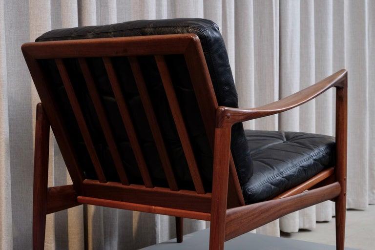 Ib Kofod-Larsen Pair of Easy Chairs Model Kandidaten, 1960s 3