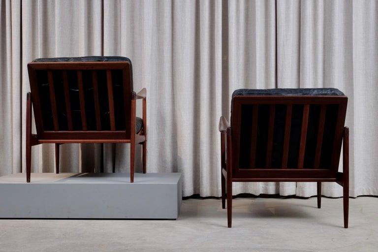 Ib Kofod-Larsen Pair of Easy Chairs Model Kandidaten, 1960s 4