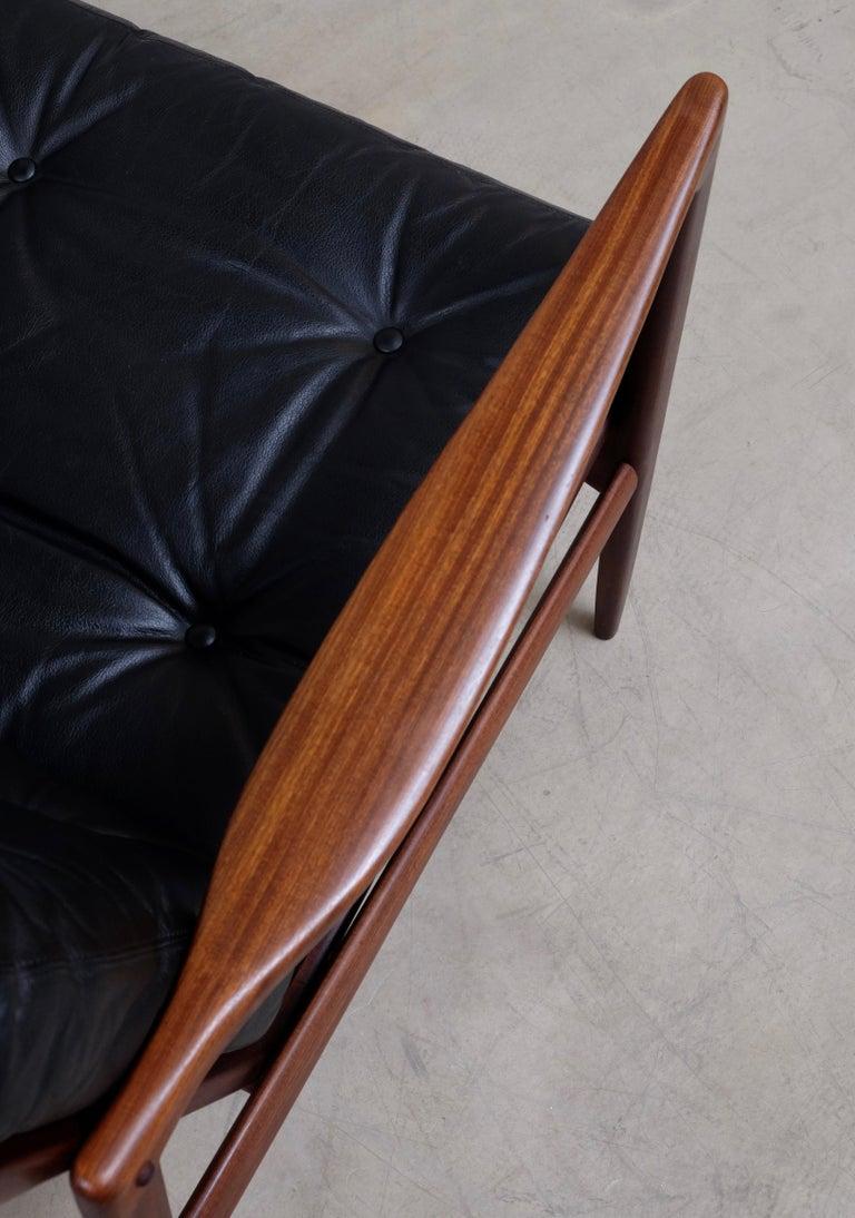 Ib Kofod-Larsen Pair of Easy Chairs Model Kandidaten, 1960s 5
