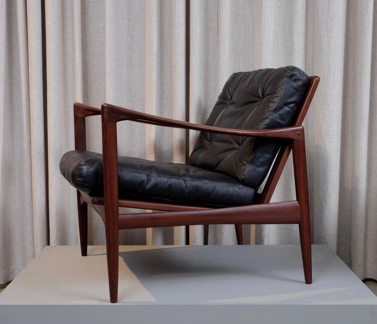 Ib Kofod-Larsen Pair of Easy Chairs Model Kandidaten, 1960s 1