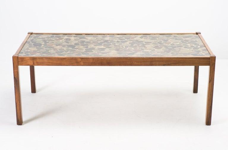Scandinavian Modern Ib Kofod-Larsen Pebbles Coffee Table For Sale