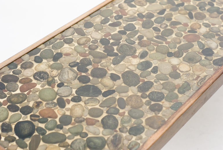 Danish Ib Kofod-Larsen Pebbles Coffee Table For Sale