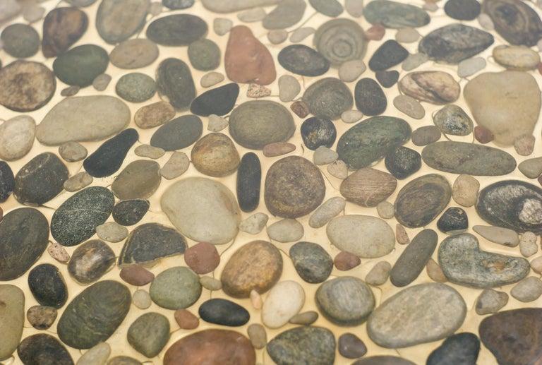 Stone Ib Kofod-Larsen Pebbles Coffee Table For Sale