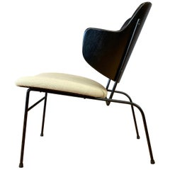 Ib Kofod-Larsen Penguin Lounge Chair, Rare Low Version, 1950s