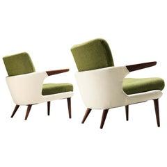 Ib Kofod-Larsen Rare Pair of Lounge Chairs Model 423