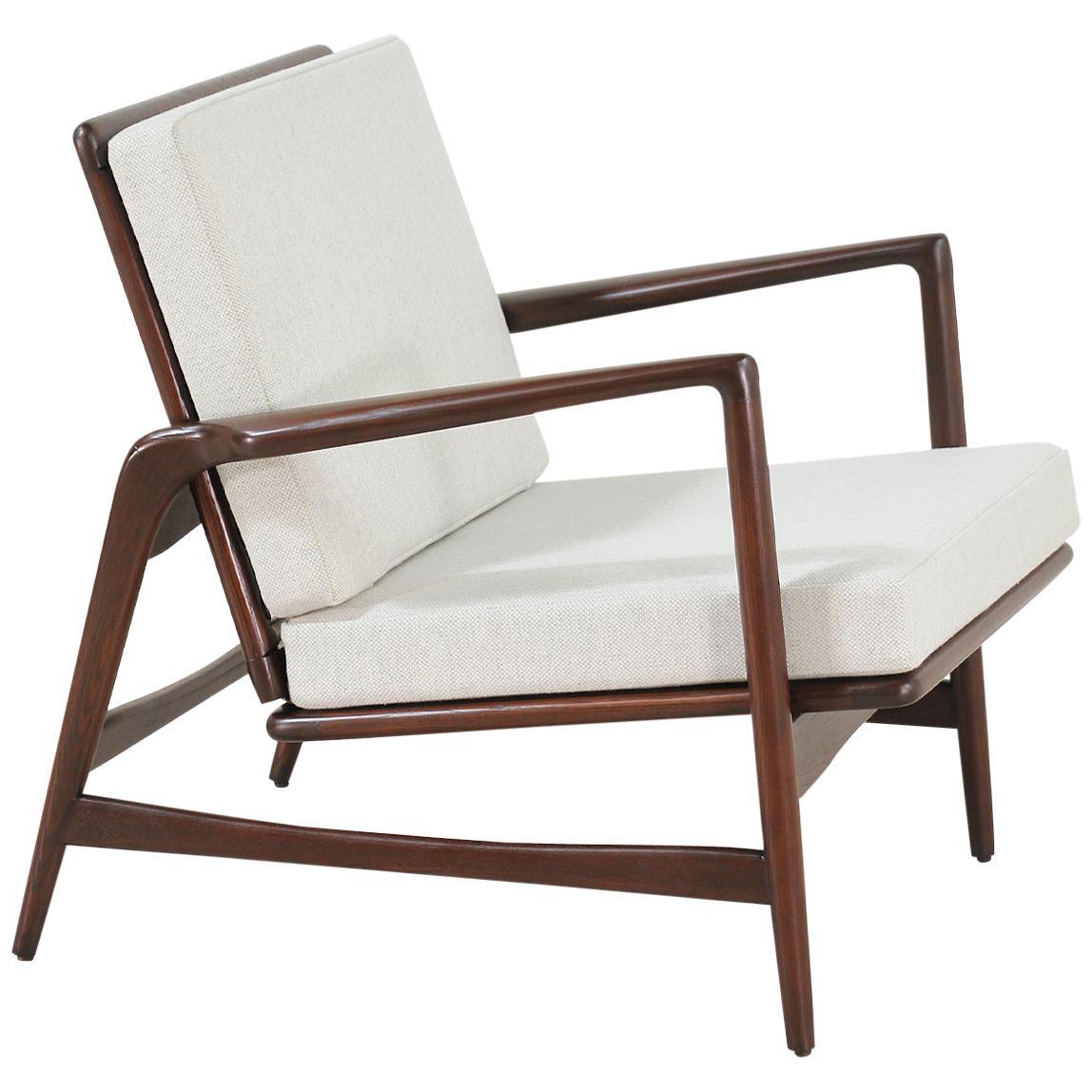 Ib Kofod-Larsen Reclining Lounge Chair for Selig