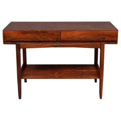 Ib Kofod-Larsen Rosewood Console Table for Faarup