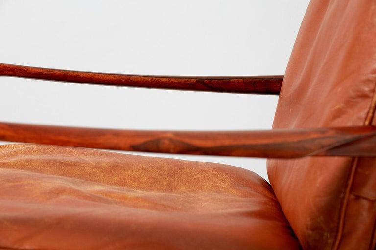 Ib Kofod-Larsen Rosewood Samso Chair, circa 1950s For Sale 2