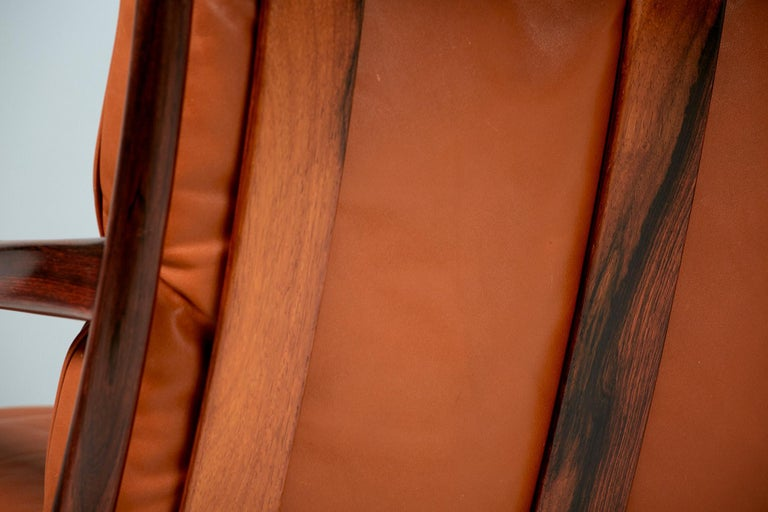 Ib Kofod-Larsen Rosewood Samso Chairs, circa 1960 In Excellent Condition In London, GB