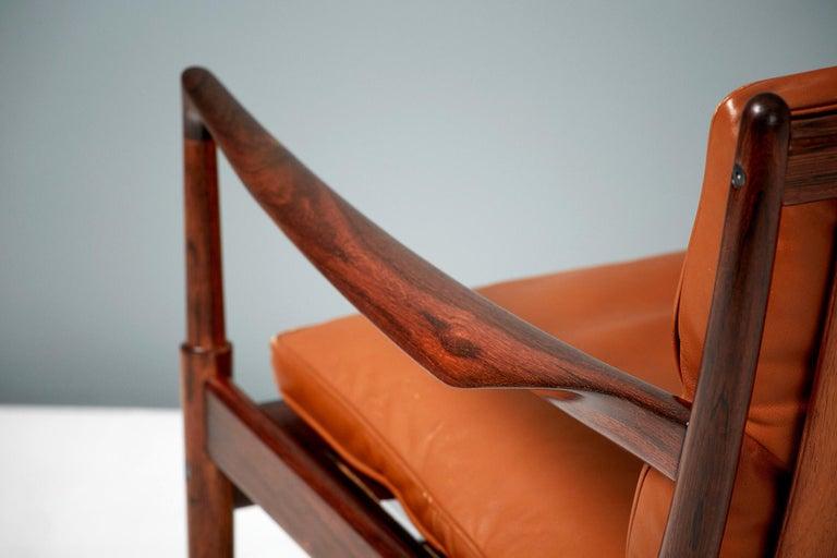 Ib Kofod-Larsen Rosewood Samso Chairs, circa 1960 2