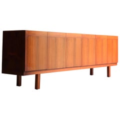 Ib Kofod-Larsen Rosewood Sideboard Credenza by Seffle Mobelfabrik, Denmark