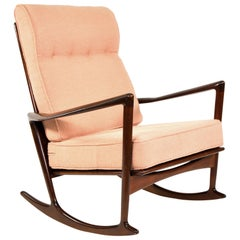Ib Kofod-Larsen Sculptural Rocking Chair for Selig